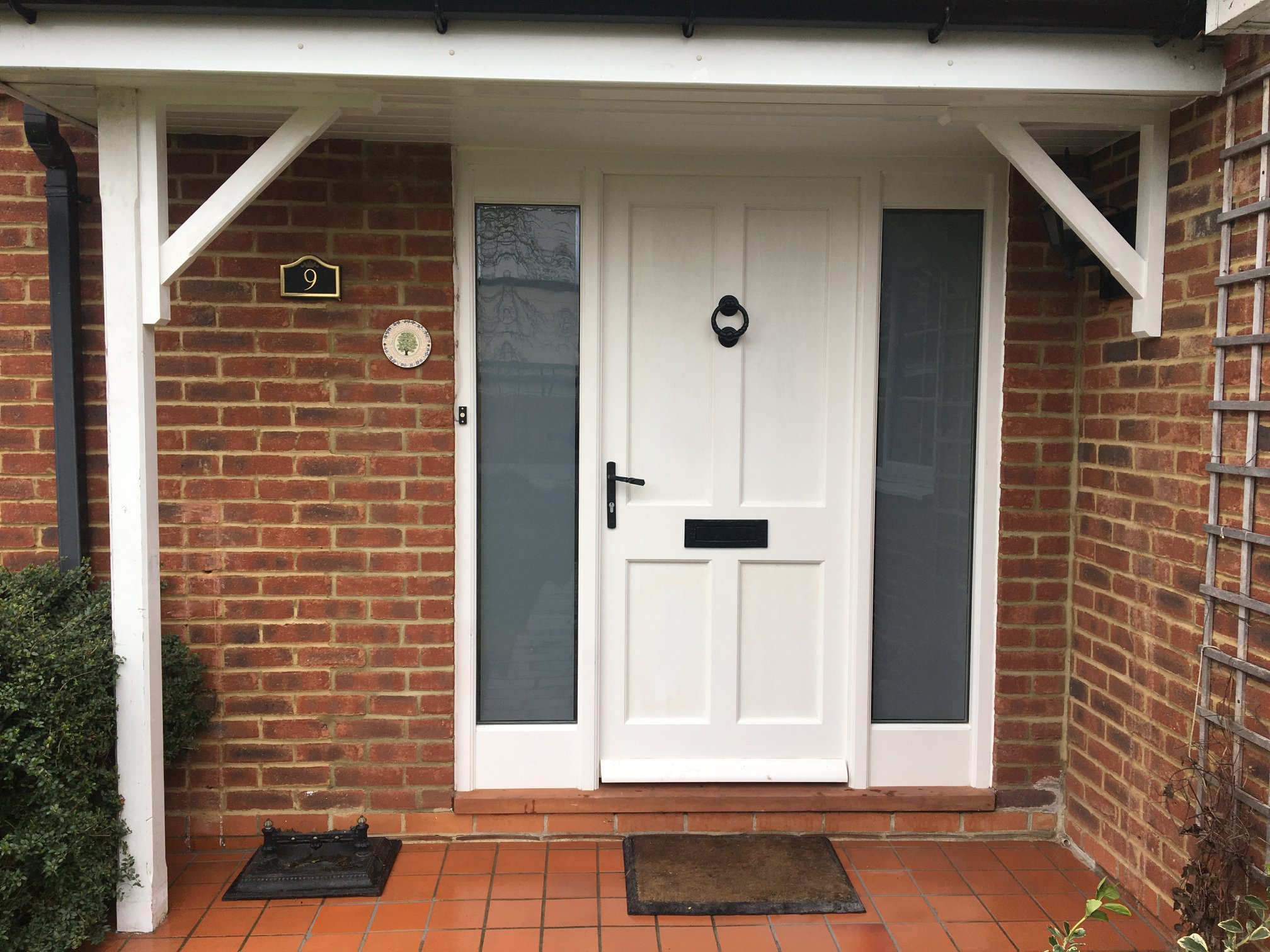 New Entrance Door and Frame